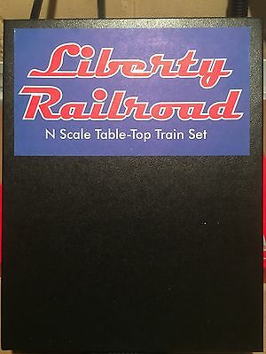 MicroTrains trains n scale Liberty Railroad Set New In Box Rare