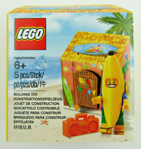 NIB LEGO Banana Hut PARTY GUY Minifigure ~ Exclusive PROMO ~ 5005250 Sealed