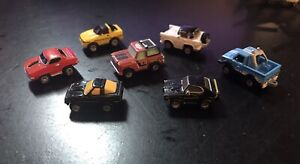 Micro MACHINES - 1986 GALOOB VINTAGE lotto (7) - Auto sportive, camion, & Sport Utility Vehicle