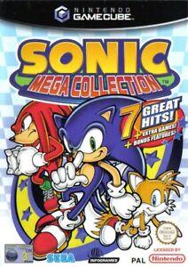 Nintendo-GameCube-Spiel-Sonic-Mega-Collection-mit-OVP
