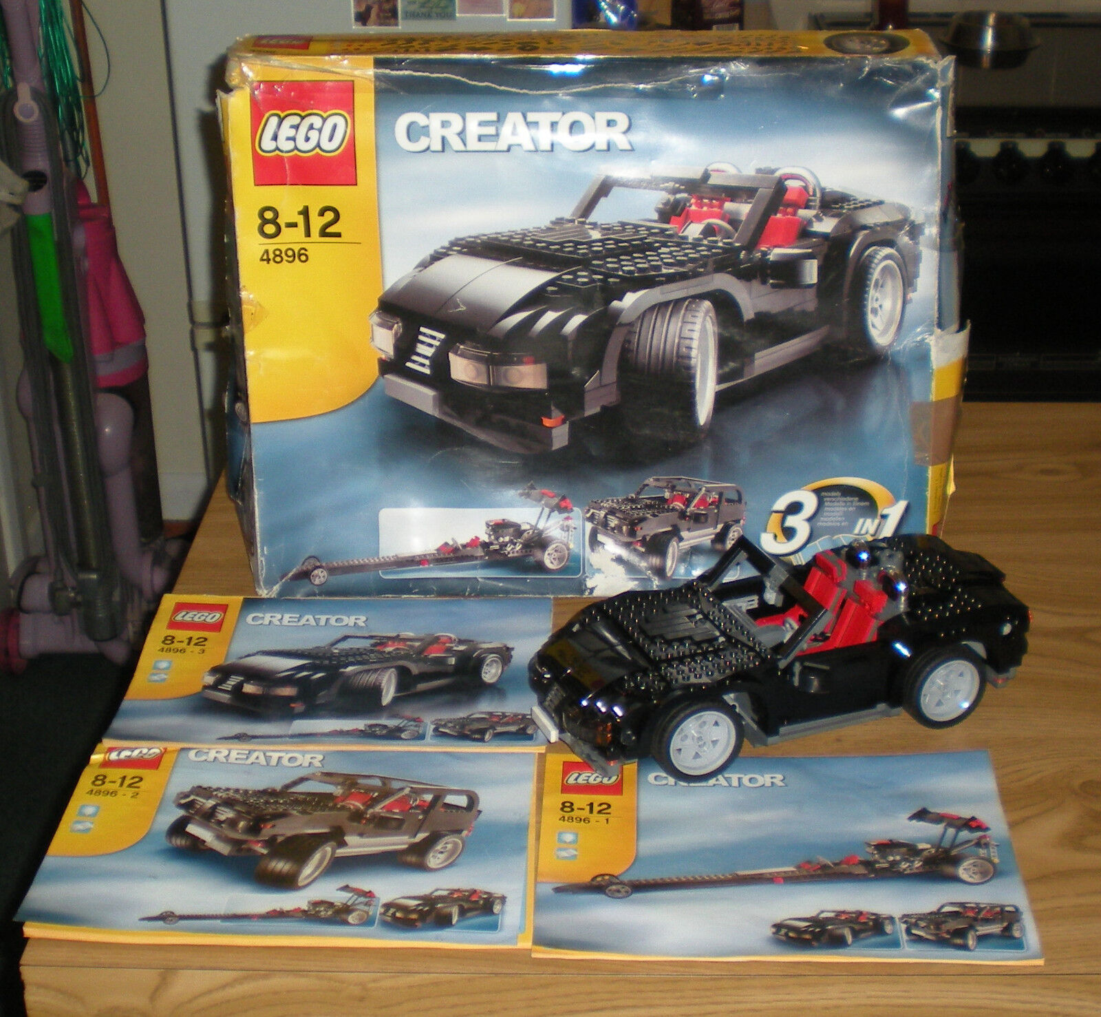 Lego Creator 4896 - Roaring Roadster - 3 in 1 set - boxed