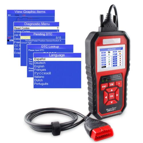 2018 NEW ODB OBD2 Auto Car Diagnostic Tool Scanner KW850 Automotive Code Reader@