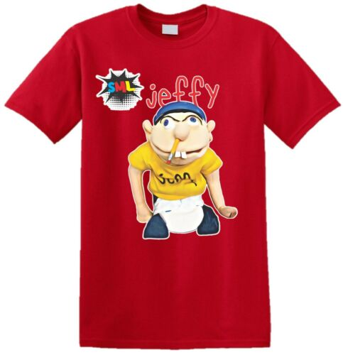 Jeffy The Puppet Mens T-Shirt Funny Kids Youtuber Girls Boys Adult Top SML XMAS