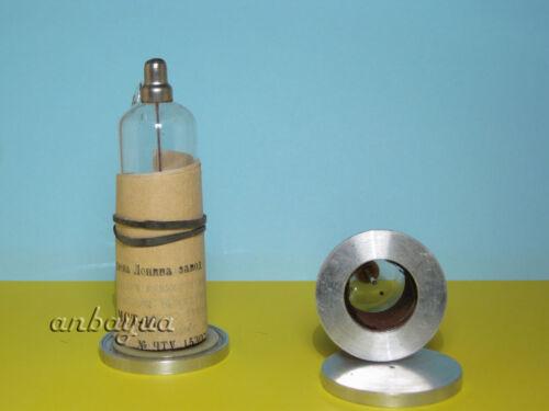 2pcs MST-17 MCT-17 Pancake Geiger Counter Tube Mica Window Beta Gamma Alpha NOS