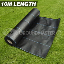 10M LONG GROUNDMASTER? HEAVY DUTY WEED CONTROL FABRIC GROUND COVER MEMBRANE
