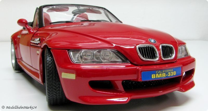 BBURAGO 33049 BMW M Roadster red