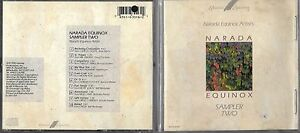 CD-10T-NARADA-EQUINOX-SAMPLER-TWO-BRIAN-MANN-DOUG-CAMERON-SPENCER-BREWER-1990