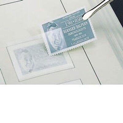 Briefmarken Vornehm Leuchtturm Sf-zuschnitt 21x24 Mm Klebefälze & Klebestreifen Glasklare Trägerfolie