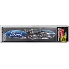 Original Ford Logo Tribal Flammen Chrom Emblem Aufkleber Decal Sticker 2 Stück