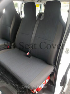 TO FIT A MERCEDES VITO VAN, 2010, SEAT COVERS, YARO II FABRIC SINGLE & DOUBLE