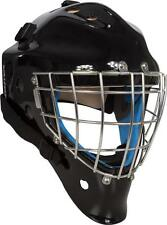 New Vaughn 9500 SB goalie face mask senior large black ice hockey sr goal helmet