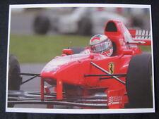 Postcard Ferrari F310B 1997 #5 Michael Schumacher (GER) type 2