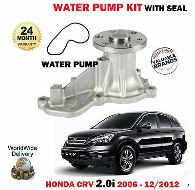 100/% New USM Water Pump Fits for Honda CRV CR-V 2.4L 12-14 19200R5AA01