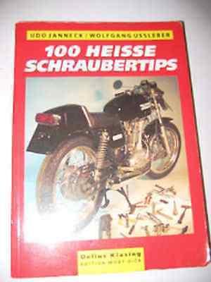 100 Heisse Schraubertips Für` Motorrad Delius Klasing