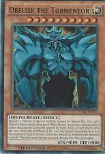 YU-GI-OH ULTRA RARE CARD: OBELISK THE TORMENTOR  LDK2-ENS02 - LIMITED EDITION