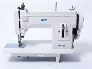 Rex 607 Portable Upholstery Walking Foot Sewing Machine All Cast
