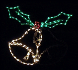 Christmas-Holiday-Animated-Bells-Outdoor-LED-Lighted-Decoration-Steel-Wireframe