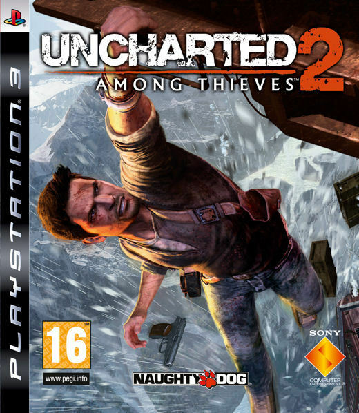 Uncharted 2 Among Thieves PS3 playstation 3 jeux jeu action lot game games 918
