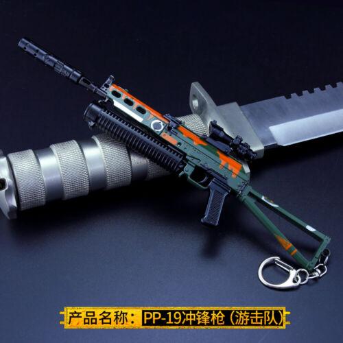 1//6 1:6 PUBG PP-19 PP19 gun  BattleField5 Battleground Metal 7.7inch APEX