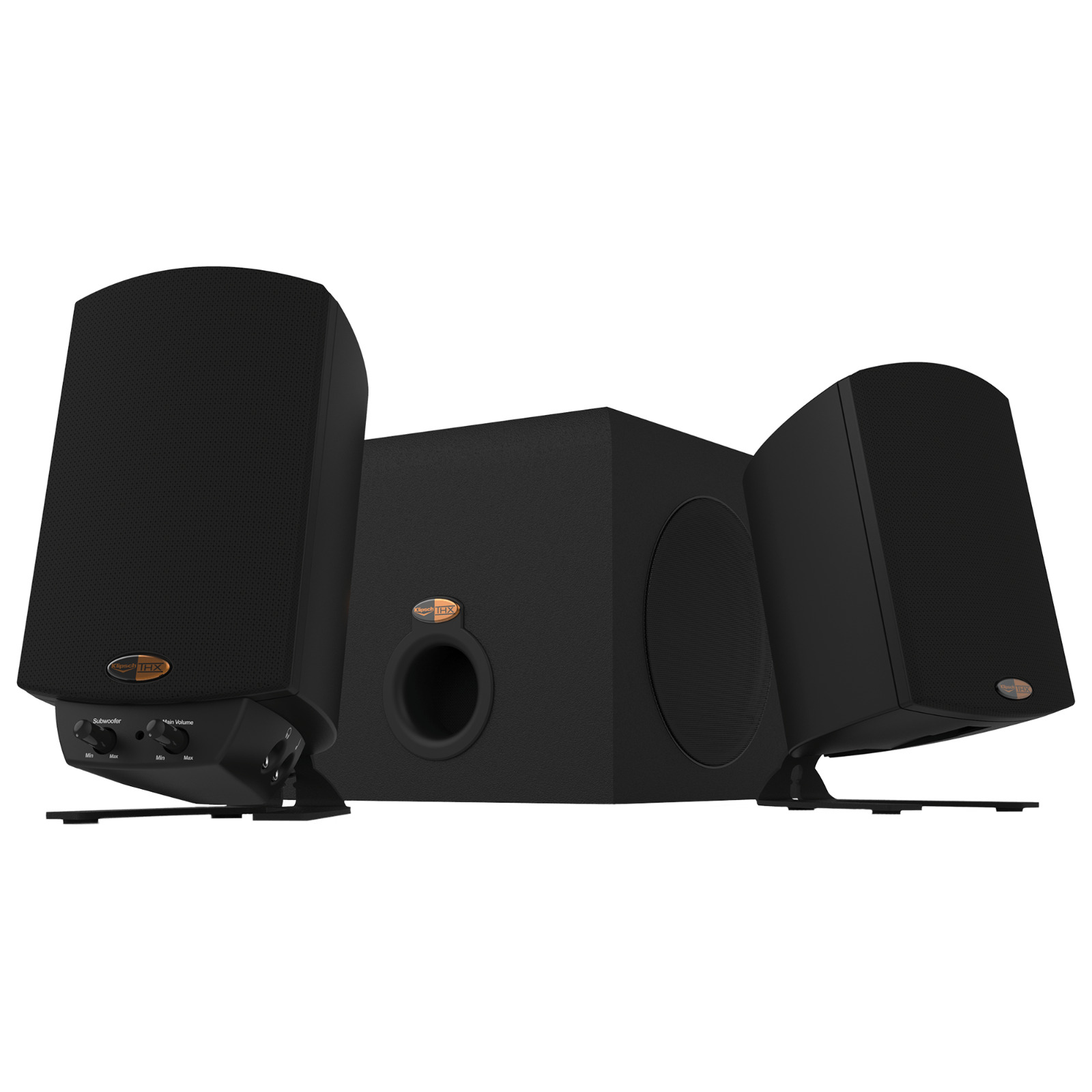 Klipsch ProMedia 2.1 THX Certified Computer Speaker System (Black). Buy it now for 54.99