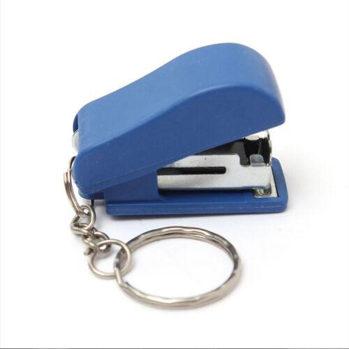 Tragbare Schlüsselbund Mini Nette Hefter Für Home Schule Papier Buchbinden WRDE