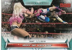 2019-Topps-Wwe-Femmes-Division-Cartes-a-Collectionner-61-Asuka-Alexa-Bliss