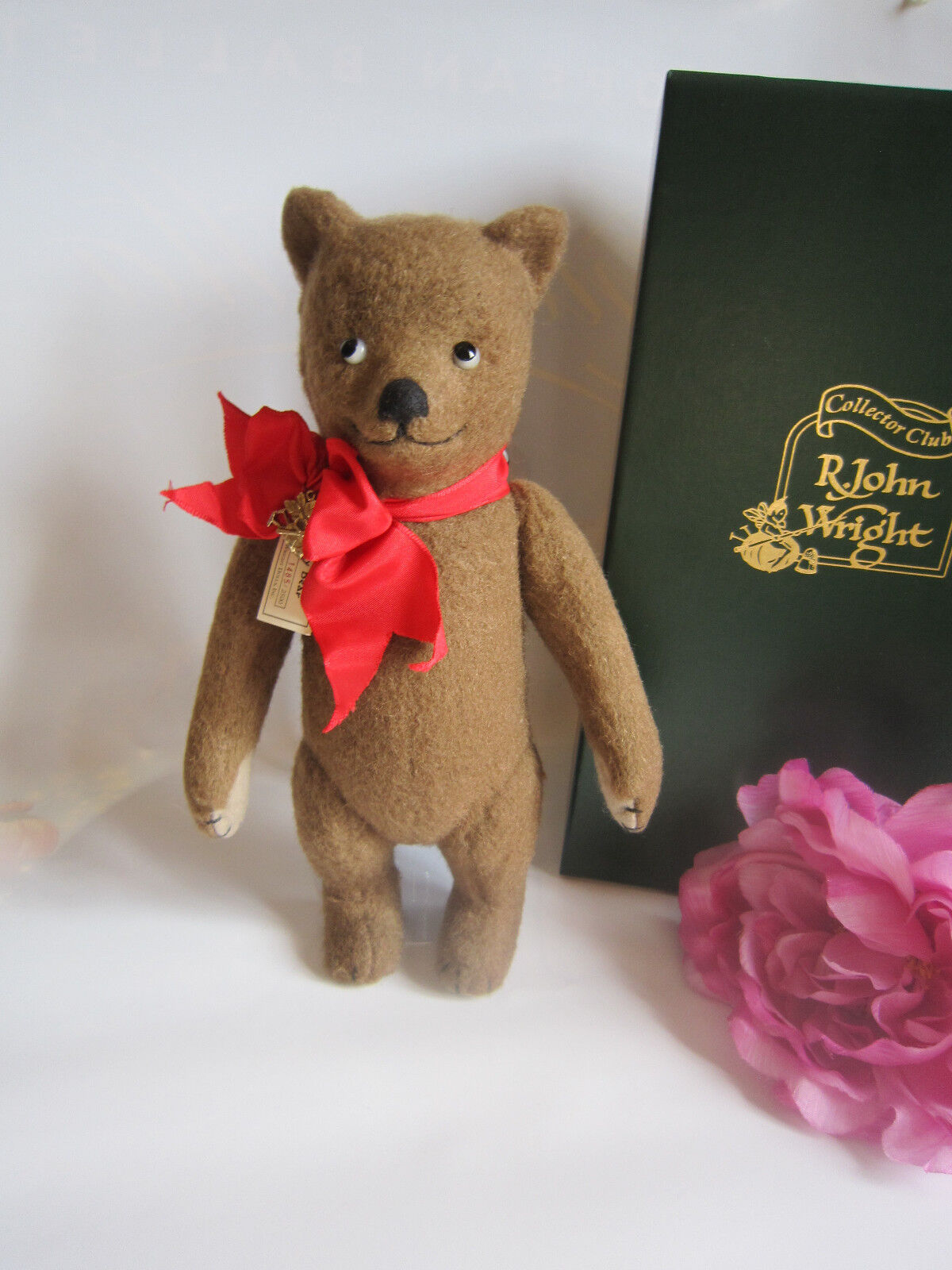 R John Wright Teddy Bear. Ltd. Amazing. Perfect. Rare.