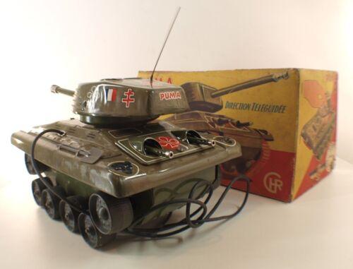 Chr Char Puma Armée France Moteur Filoguidé 32 Cm Avec Boite