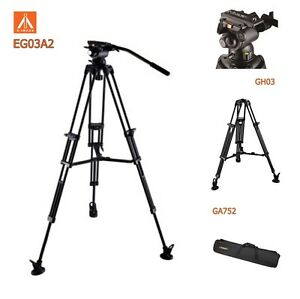 Eimage Eg03a2 Tripod Kit 2 Stage Aluminum Leg 75mm Bolw Size Gs1