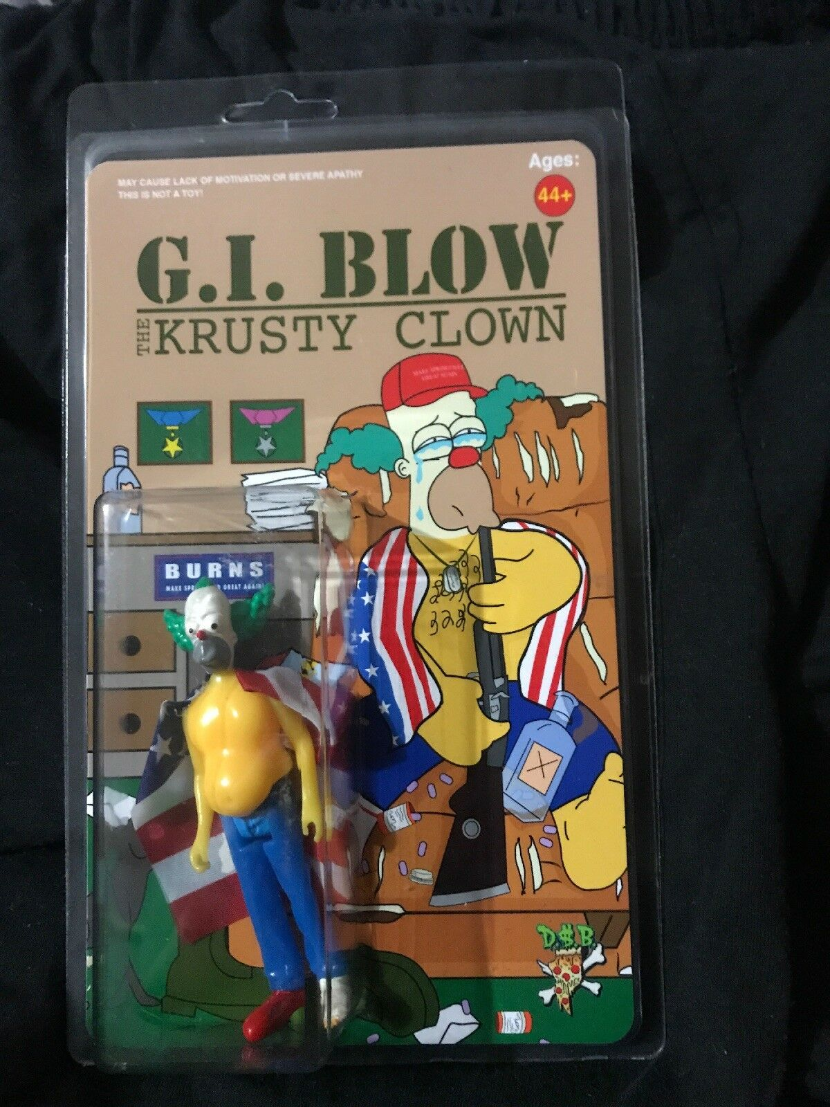GI Blow Krusty The Clown by Dollar  lice Stiefellegs The Simpsons Krusty The Clown