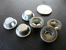 "STAR LOCK END CAPS - 8mm / 5/16"" - VINTAGE PRAM, GO KART, TRIKE, PEDAL CAR"