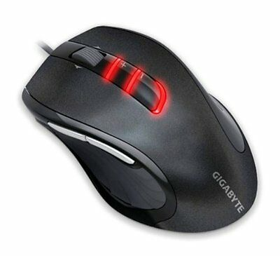 GENUINE GIGABYTE GM-M6900 USB 3200DPI PRECISION OPTICAL GAMING WIRED MOUSE