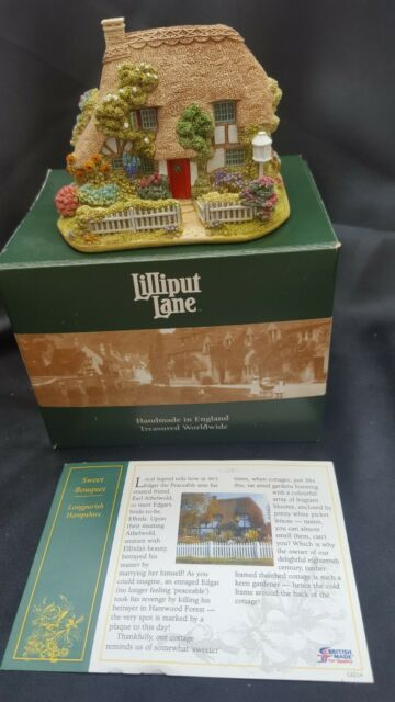 LILLIPUT LANE SWEET BOUQUET L2960 LONG PARISH HAMPSHIRE