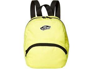 Vans Girls Got This Lemon Tonic/Black Mini Backpack (VN0A3Z7WVD8) - NWT