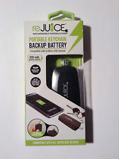 reJuice Portable Keychain Backup Battery for Micro USB Devices 650 mAh