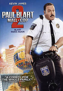 Paul-Blart-Mall-Cop-2-Very-Good-DVD-James-Kevin