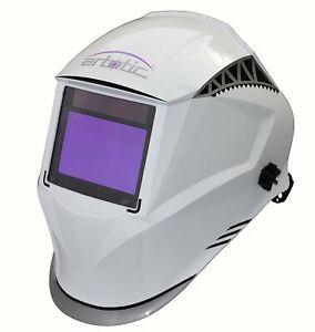 RBT Solar Auto Darkening Welding Helmet Grinding Welder Hood 4sensors//true color