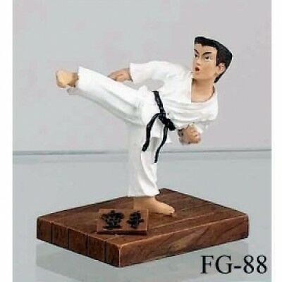 Karate Breaking Figure H921 Martial Arts Gifts Doll Figurine Display Christmas