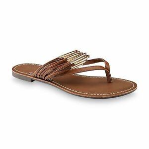 84c082fe7 Image is loading New-Womens-Bongo-Annabelle-Thong-Sandal-Style-10422-