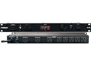 FURMAN-M-8DX-9-OUTLET-15-AMP-POWER-CONDITIONER-W-LIGHTS-M8DX-M-8-D-X