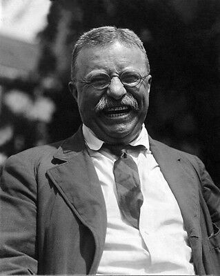 Former US President THEODORE /'TEDDY/' ROOSEVELT Glossy 8x10 Photo Print Poster