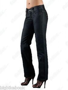 Motorcycle-Jeans-Blue-Short-Leg-SA-W7-Storm-Ladies-Hornee