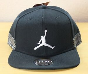 Nike Air Jordan Jumpman Pro AJ3 Elephant Adjustable Snapback Hat Cap ... 982ec49823db