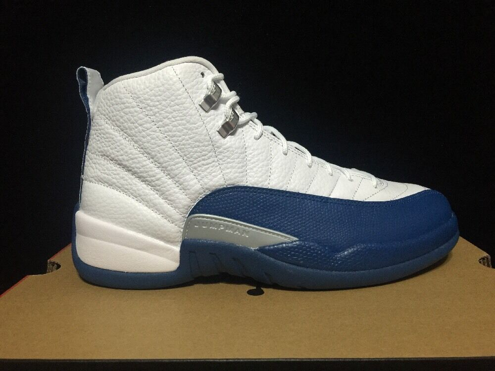 Nike Air Jordan 12 Retro XII  French bluee  130690-113 DS 2016 Release