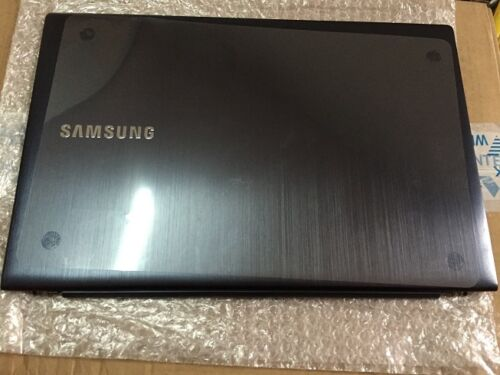 """Samsung NP880Z5E 15.6/"""" OEM LCD Back Cover w// Hinges BA75-04417A Grade A"""