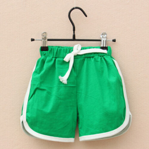 Kids Toddler Baby Girl Boys Shorts Summer Beach Casual Short Trousers Pants 1-6Y