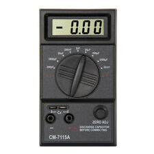 Digital LCD Screen 20mF-200pF Capacitance Meter Capacitor Multimeter with Leads