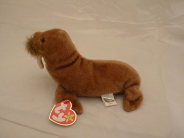 5b176c3ce16 Ty Beanie Baby Paul The Walrus 1999 5th Generation Hang Tag for sale ...