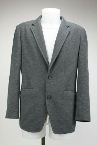 Wooyoungmi Grey Woolen Blazer, Size:UK42