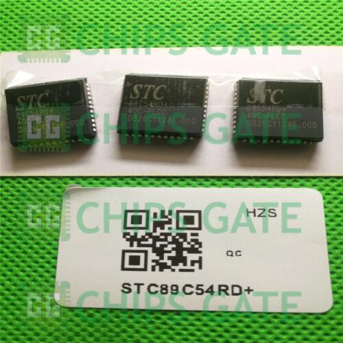 STC D//C:08 PLCC44 3PCS NEW STC89C54RD